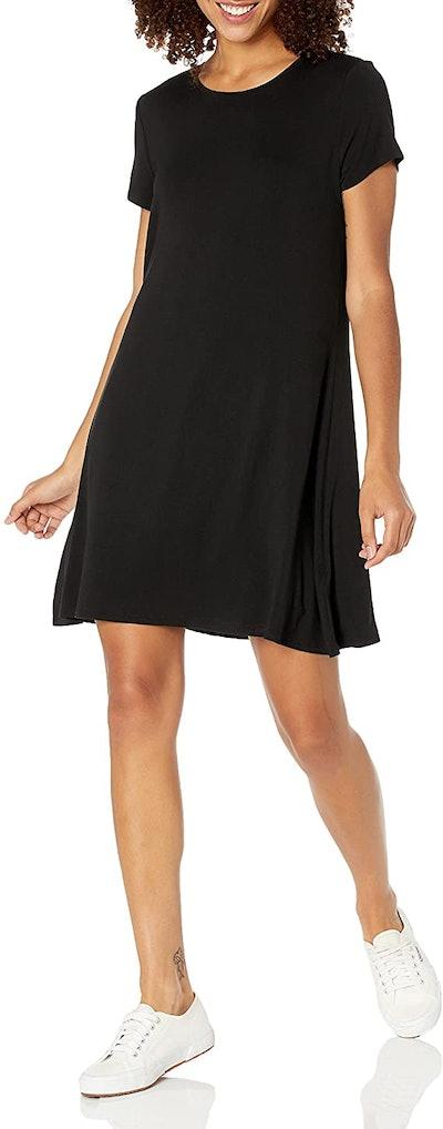 Amazon Essentials Short Sleeve A-line Shirt Dress