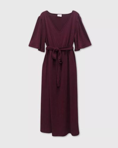 Isabel Maternity by Ingrid & Isabel™ Flutter Short Sleeve Dress