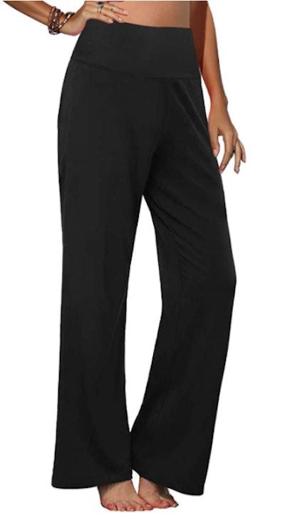 Arolina Stretchy Wide Leg Palazzo Lounge Pants