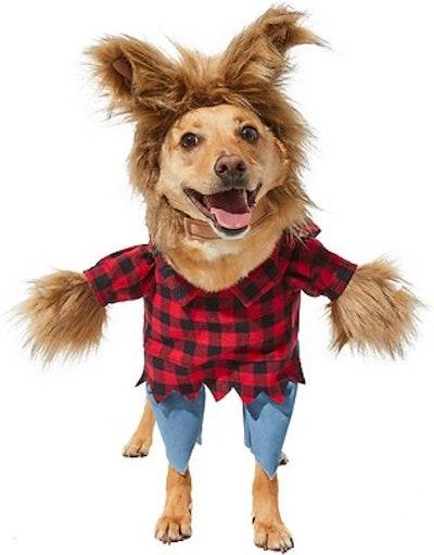 Frisco Front Walking Werewolf Dog & Cat Costume