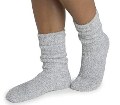 Barefoot Dreams The Cozychic Heathered Socks