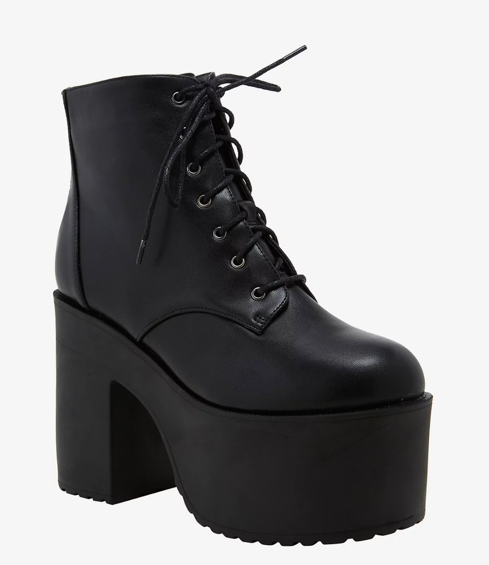 Stomp You Out Platform Boots
