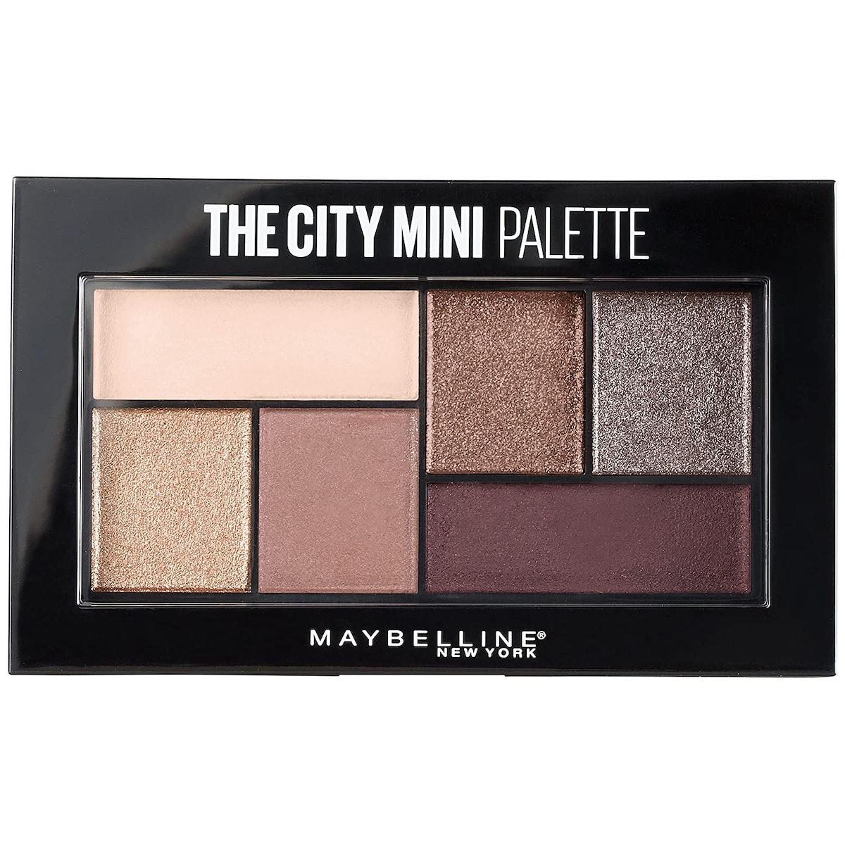 Maybelline The City Mini Eyeshadow Palette in Chill Brunch Neutrals