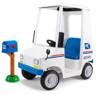 Kids USPS Mail Carrier 6 Volt Electric Ride On Toy
