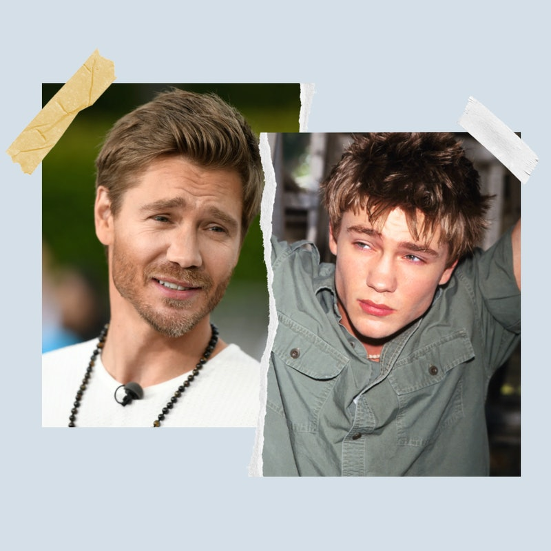 Chad Michael Murray now and then 20 years ago in 2001.