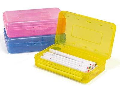Sooez Pencil Box (3-Pack)