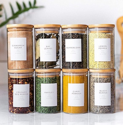 Savvy & Sorted Spice Labels
