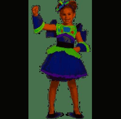 Disney Toy Story Girls Buzz Lightyear Tutu Costume