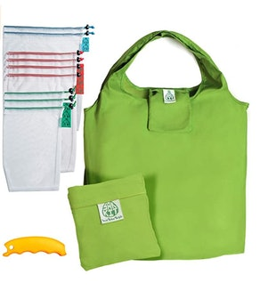 RabbeLush Reusable Grocery with Weight Tags (12-Pack)