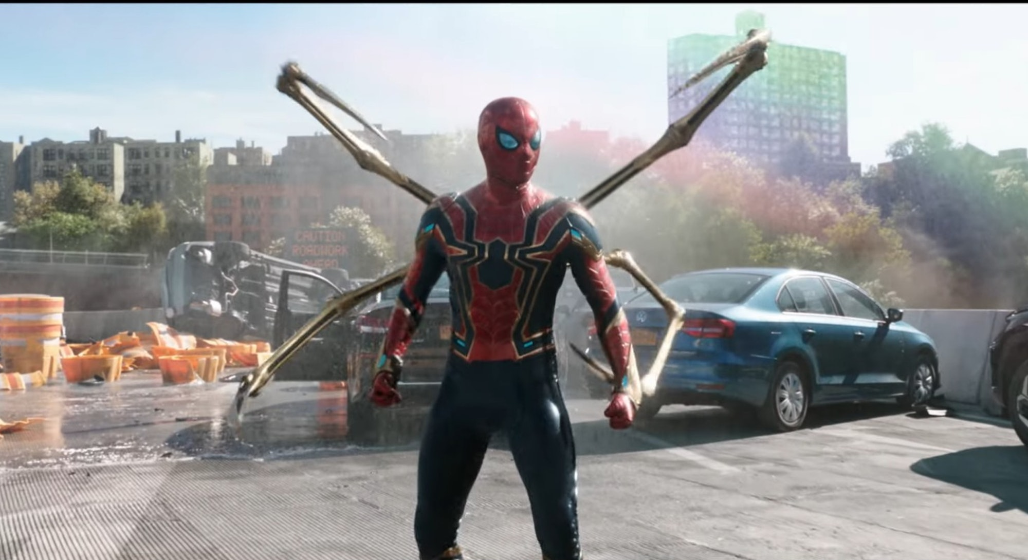 Spider-Man in new suit in No Way Home trailer