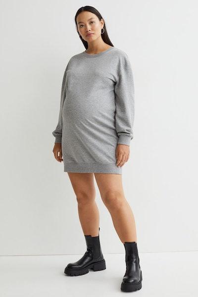 MAMA Sweatshirt Dress