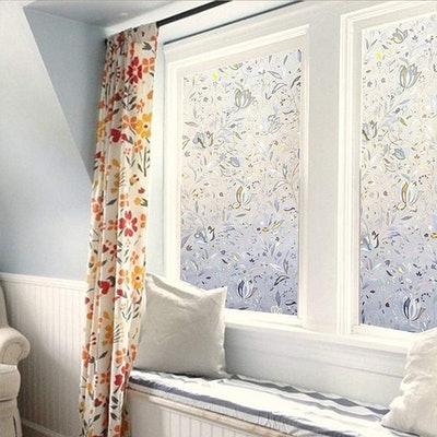 LEMON CLOUD Decorative Privacy Window Film