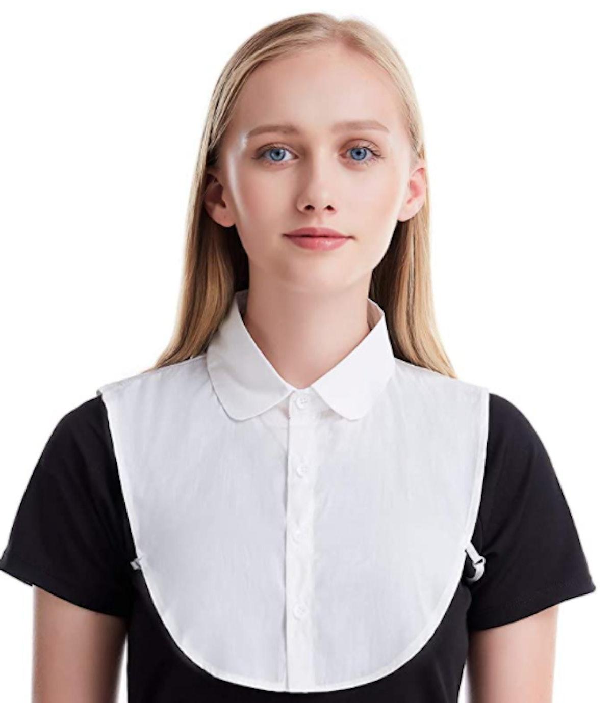 Shinywear Detachable Dickey Collar