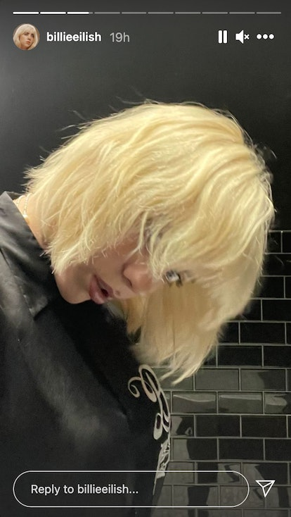 Billie Eilish's short shag haircut makes her look just like her mom Maggie Baird. Her blonde cut is ...