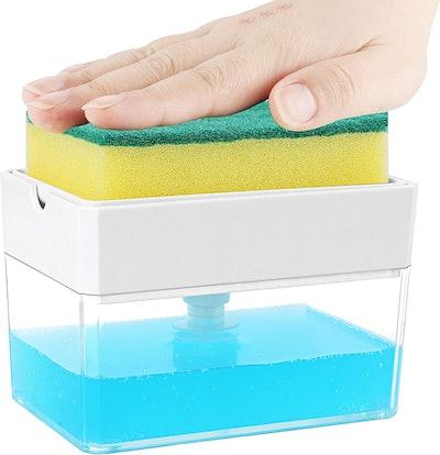 ALBAYRAK Sponge Holder and Soap Dispenser
