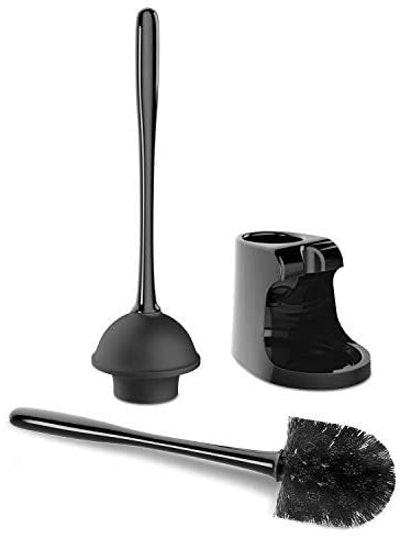 MR.SIGA Toilet Plunger and Bowl Brush Combo