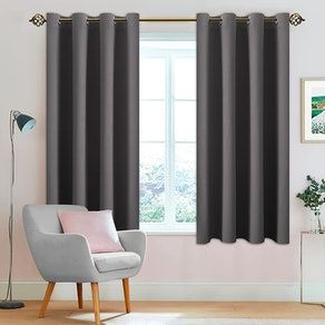 LUSHLEAF Blackout Curtains