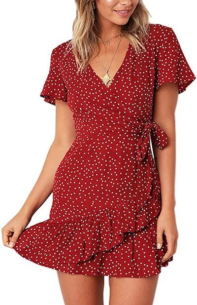 Relipop Short V-Neck Dress