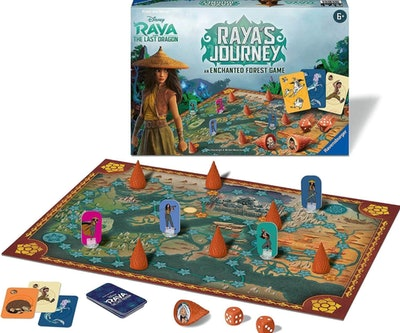 Raya's Journey: An Enchanted Forest Board Game For Kids