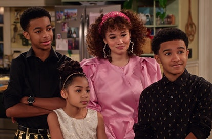 The McKellan children in 'Family Reunion'