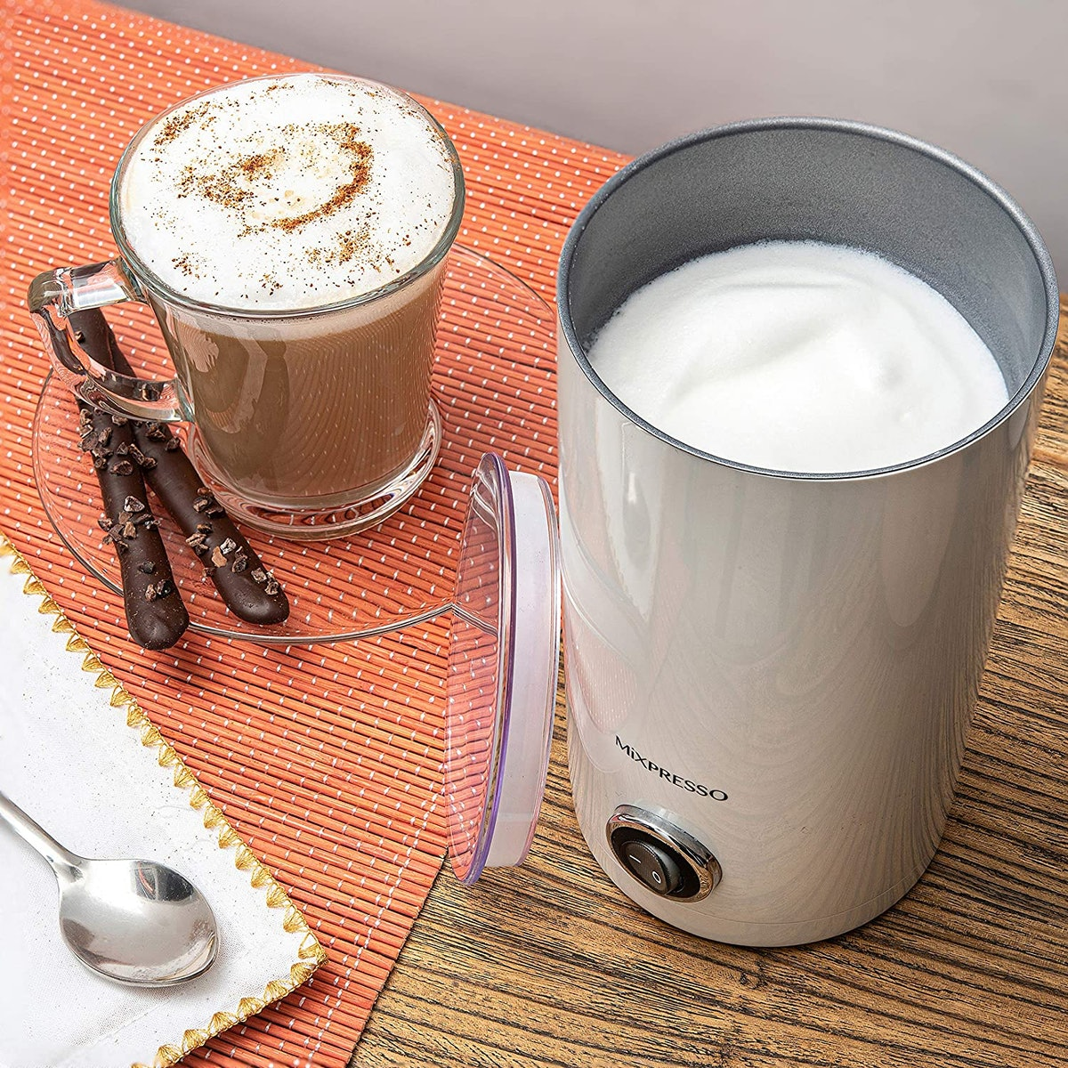 Mixpresso Electric Milk Frother