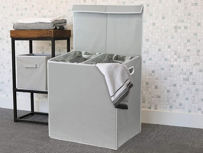 Simplehouseware Double Laundry Hamper with Lid