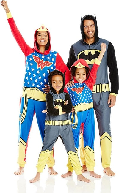 DC Comics Big Boys' DC Comics Family Cosplay Union Suit, Gray, 8, 100% Polyester By Brand Justice Le...