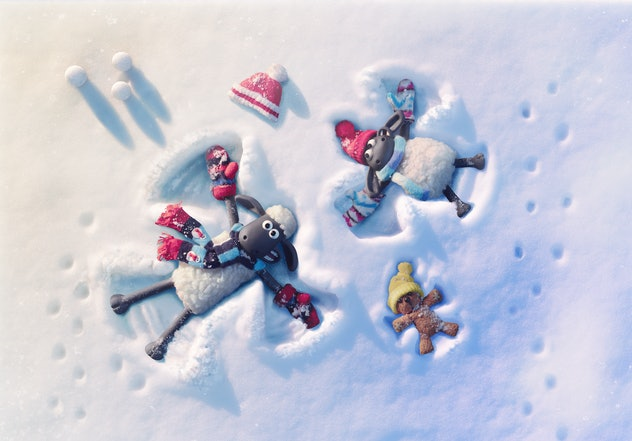 Shaun the Sheep: The Flight Before Christmas is a film by Shaun the Sheep.