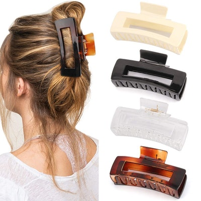 Canitor Large Hair Claw Clips (4 Pack)