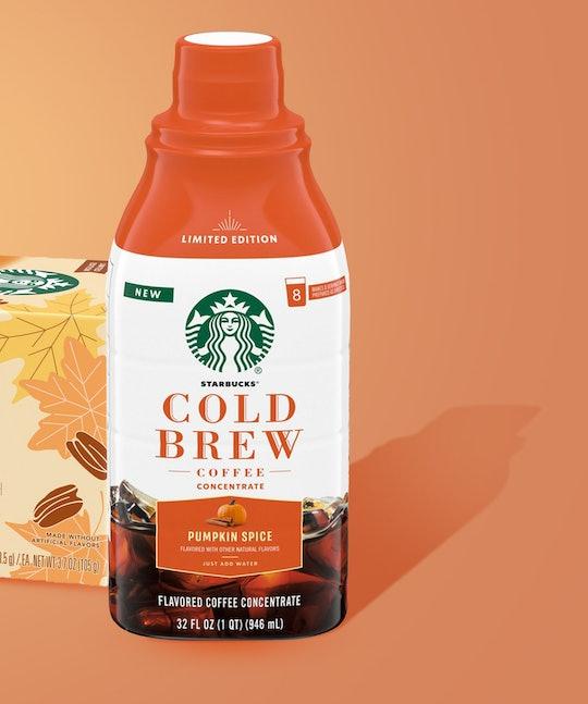 Cold brew pumpkin spice concentrate