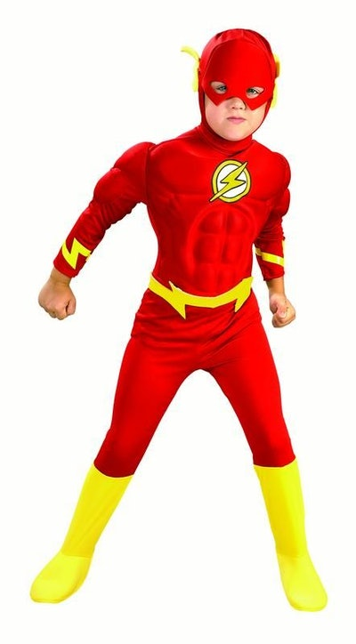 Rubies Flash Muscle Chest Boys Halloween Costume