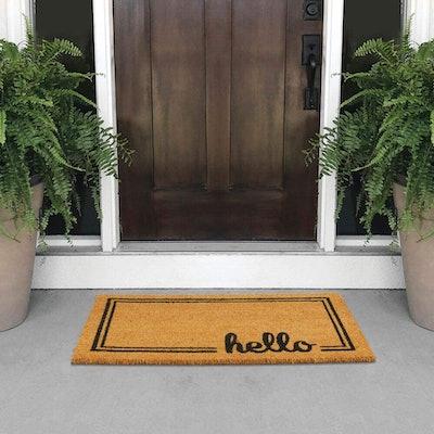 mDesign Welcome Doormat