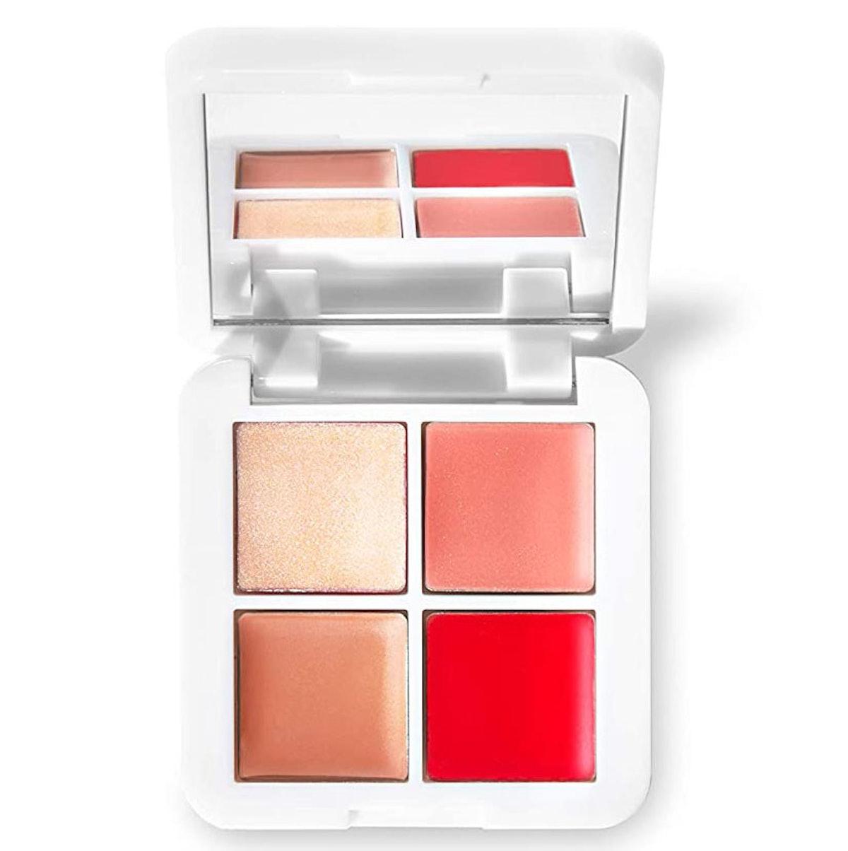RMS Beauty Lip2Cheek Glow Quad Mini Palette