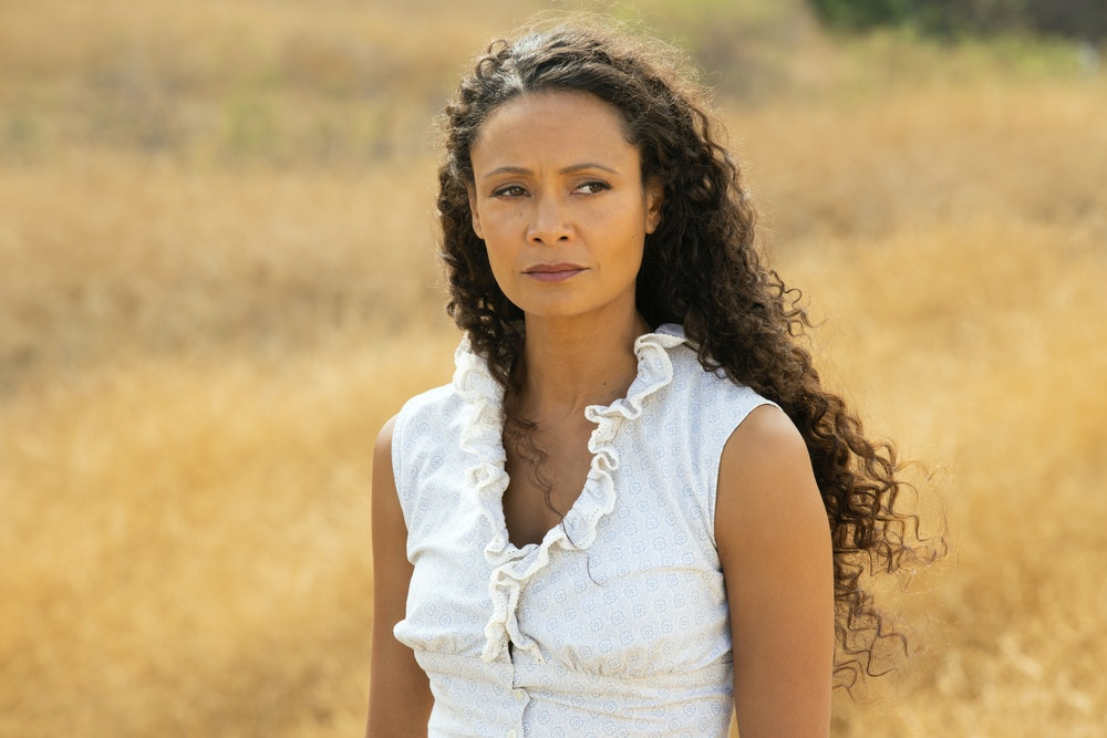 Thandiwe Newton in Westworld Season 3 Episode 8.