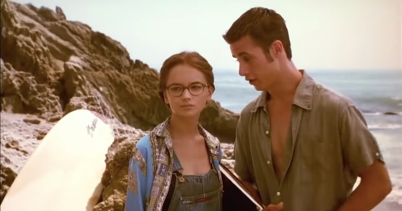 """Rachael Leigh Cook as Laney Boggs and Freddie Prinze Jr. as Zack Siler in the 1999 movie """"She's All ..."""