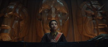 Gugu Mbatha-Raw as Judge Ravonna Renslayer in Loki Season 1
