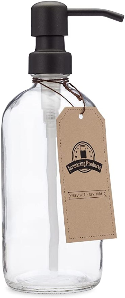 Jarmazing Products Glass Soap Dispenser