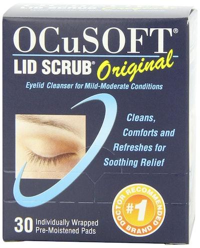 OCuSOFT Lid Scrub Original Pre-Moistened Pads (30-Pack)