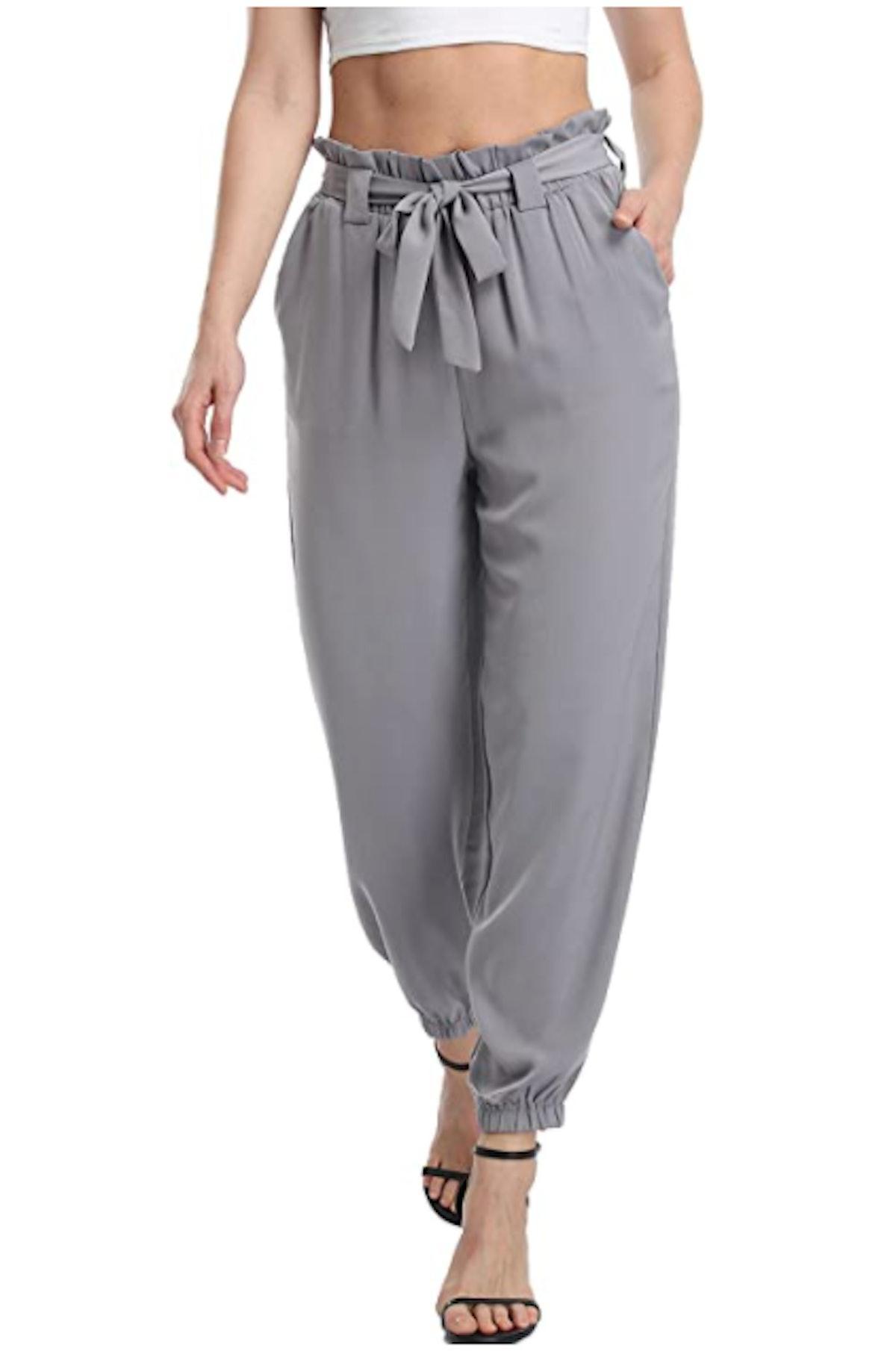 Dilgul High Waist Relaxed Fit Pants