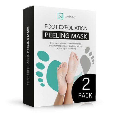 LV LAVINSO Foot Peel Mask (2 Pack)