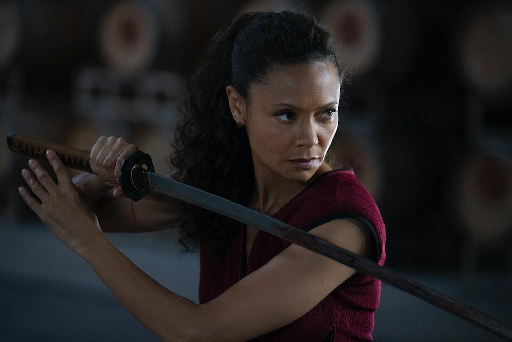 Thandiwe Newton in Westworld Season 3 Episode 4.