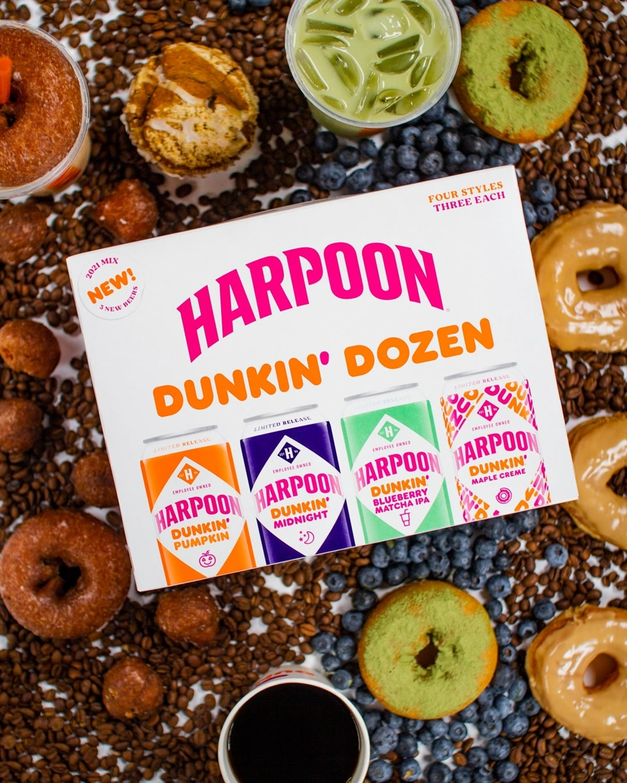 Here's where to buy Harpoon Dunkin' Dozen beer, which includes a pumpkin spice flavor.