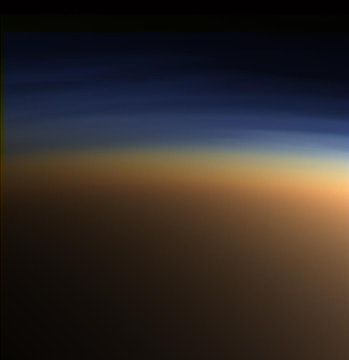titan hazy atmosphere