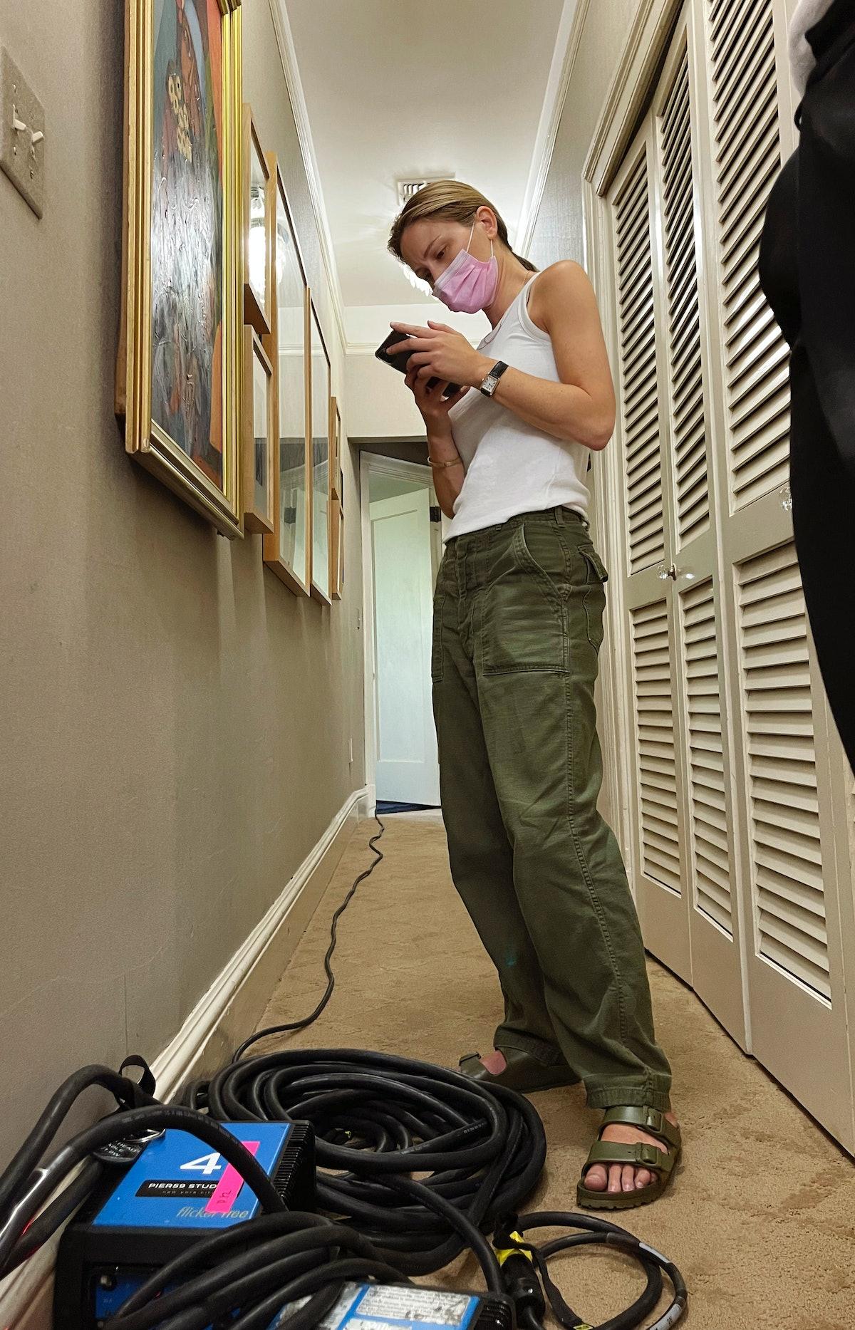 Fashion Director Nora Milch on the Julia Garner shoot.