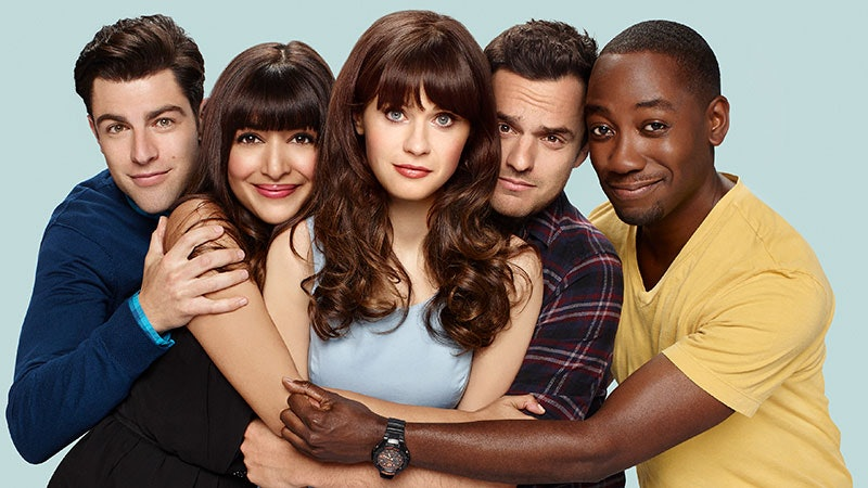 The 'New Girl' cast.