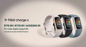 Fitbit Charge 5 range and pricing