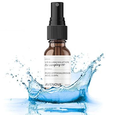Avenova Eyelid and Eyelash Cleanser Spray, 20 mL.