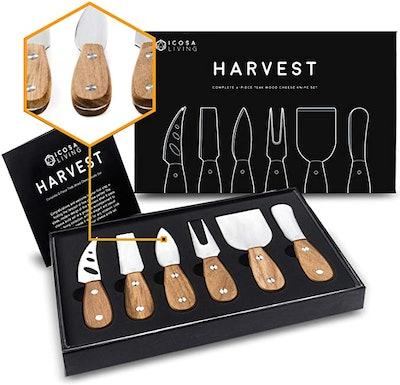 LUNAR Premium Cheese Knife Set