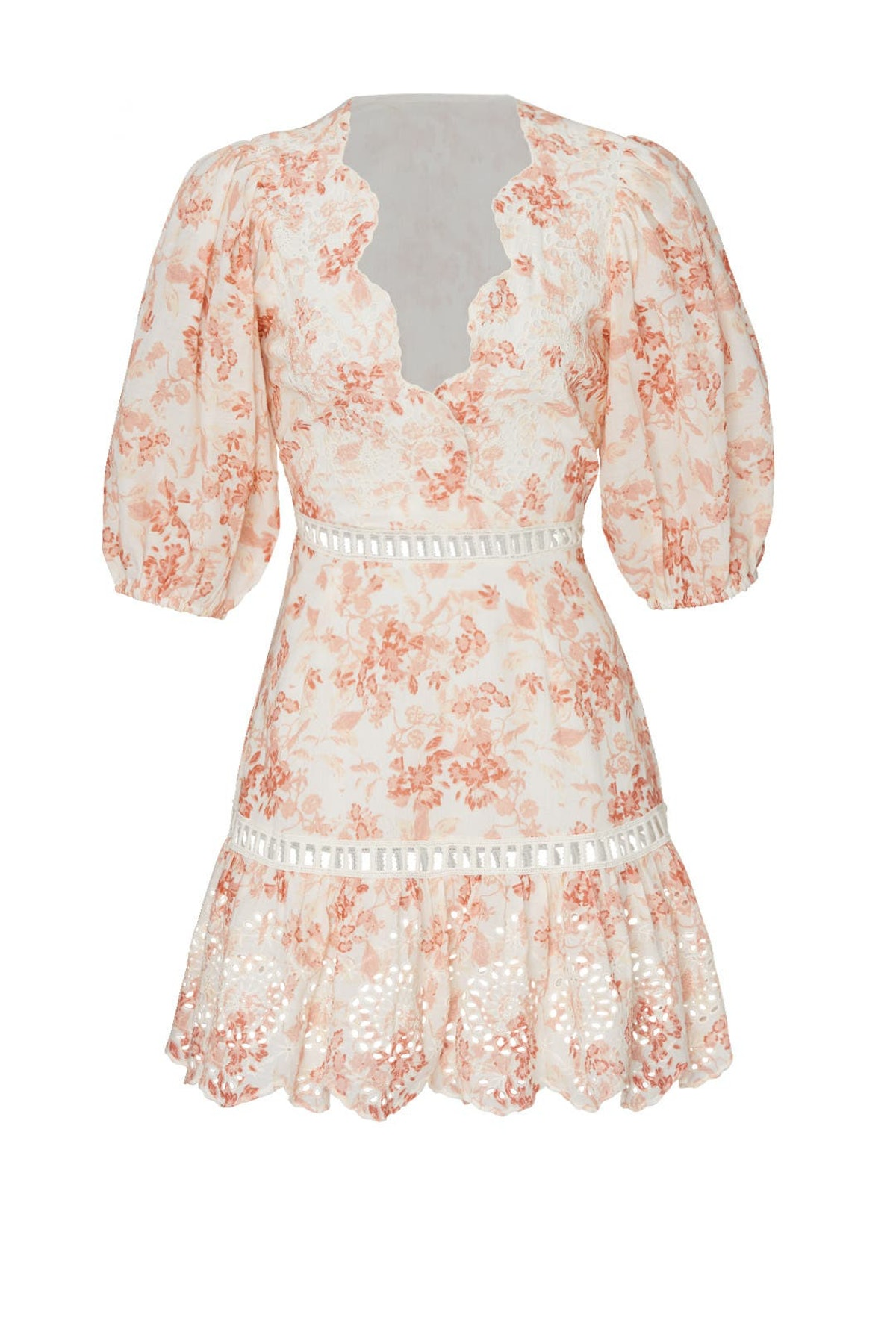 Taya floral dress from SAYLOR, available to shop via Rent The Runway.