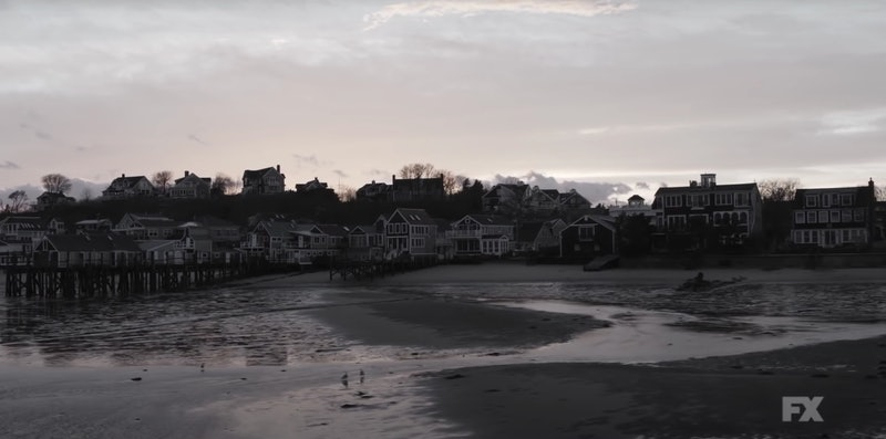 A shot of Provincetown, Massachusetts, where 'AHS' Season 10 was filmed